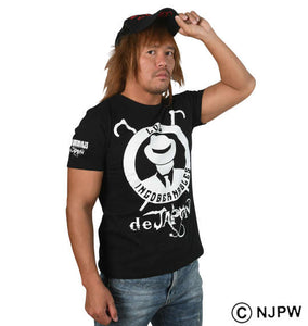 NJPW L.I.J logos T-Shirt - big tall-jp.com
