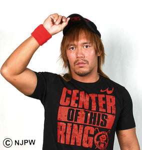 NJPW Tetsuya Naito CENTER OF THIS RING T-Shirt - big tall-jp.com
