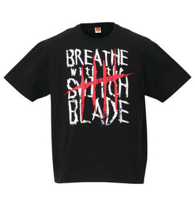 NJPW Jay White Breath T-shirt - big tall-jp.com