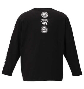 NJPW Lion Logo Long Sleeve Shirt Image 2