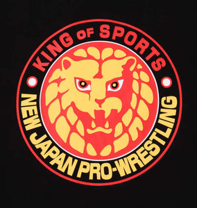 NJPW Lion Logo Long Sleeve Shirt Image 5
