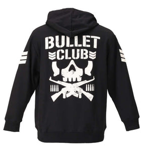 NJPW Bullet Club Hoodie - big tall-jp.com