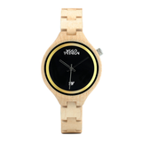 Wood Fashion by PN: Women's Wooden Watches - Grace - Light