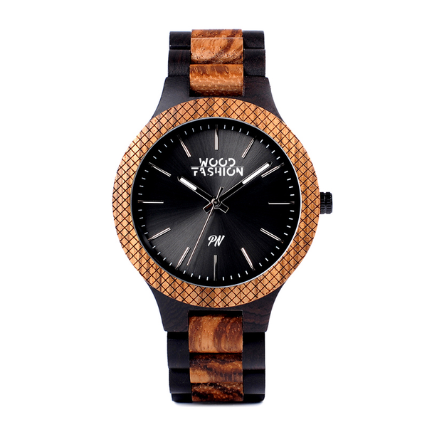 Wood Fashion by PN: Men's Wooden Watches - Rocco