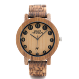 Wood Fashion by PN: Men's Wooden Watches - Neo - Light