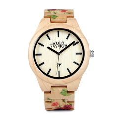 Wood Fashion by PN: Women's Wooden Watches - Clara