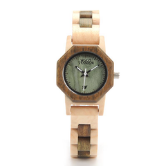 Wood Fashion by PN: Women's Wooden Watches - Ivy - Leaf