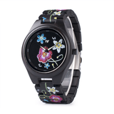 Wood Fashion by PN: Women's Wooden Watches - Daisy