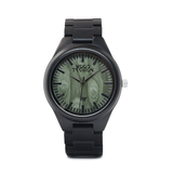 Wood Fashion by PN: Men's Wooden Watches - Axel - Leaf