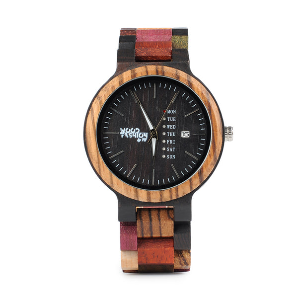 Wood Fashion by PN: Women's Wooden Watches - Holly