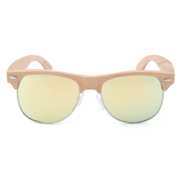 Wood Fashion by PN: Men's Wooden Sunglasses - El Paso