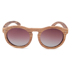 Wood Fashion by PN: Women's Wooden Sunglasses - Columbia