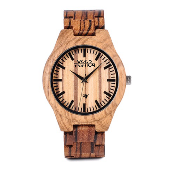 Wood Fashion by PN: Men's Wooden Watches - Draven