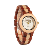 Wood Fashion by PN: Women's Wooden Watches - Lily