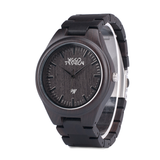 Wood Fashion by PN: Men's Wooden Watches - Axel - Iron