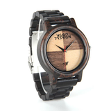 Wood Fashion by PN: Men's Wooden Watches - Dylan