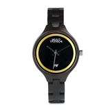 Wood Fashion by PN: Women's Wooden Watches - Grace - Dark