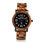 Wood Fashion by PN: Men's Wooden Watches - Cameron - Light