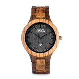 Wood Fashion by PN: Men's Wooden Watches - Ace
