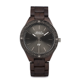 Wood Fashion by PN: Men's Wooden Watches - Caleb - Lava