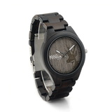 Wood Fashion by PN: Men's Wooden Watches - Chase