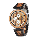 Wood Fashion by PN: Men's Wooden Watches - Oliver