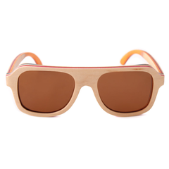 Wood Fashion by PN: Men's Wooden Sunglasses - Arlington