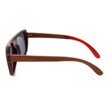 Wood Fashion by PN: Men's Wooden Sunglasses - Kansas