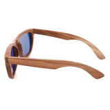 Wood Fashion by PN: Men's Wooden Sunglasses - Miami