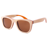 Wood Fashion by PN: Men's Wooden Sunglasses - Montgomery