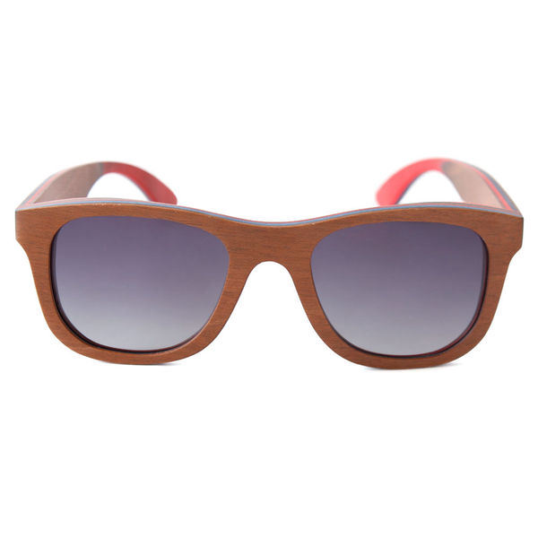 Wood Fashion by PN: Men's Wooden Sunglasses - Long Beach