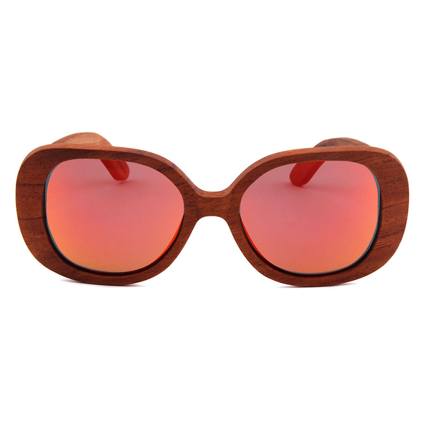 Wood Fashion by PN: Women's Wooden Sunglasses - Topeka