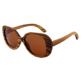 Wood Fashion by PN: Women's Wooden Sunglasses - Chula Vista
