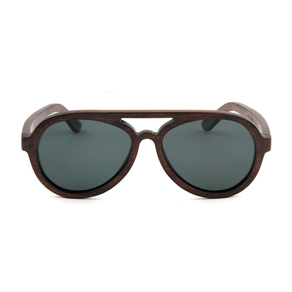 Wood Fashion by PN: Women's Wooden Sunglasses - Visalia