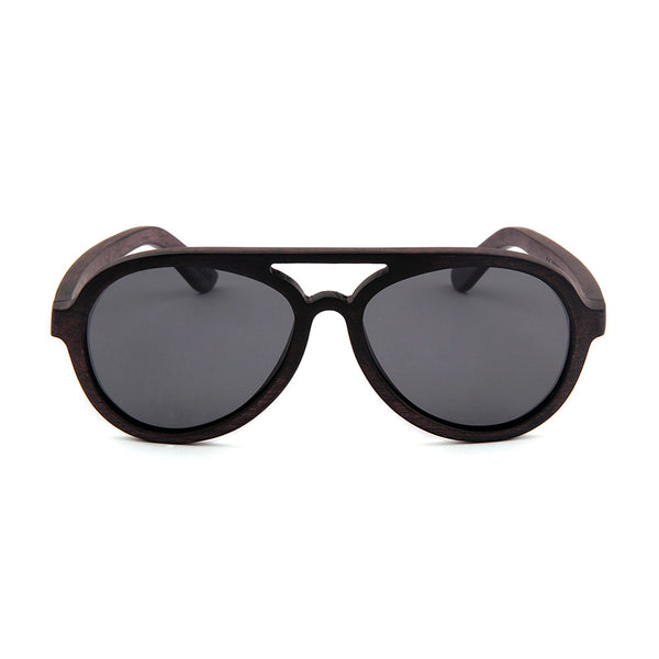 Wood Fashion by PN: Men's Wooden Sunglasses - Hollywood