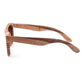 Wood Fashion by PN: Men's Wooden Sunglasses - Houston