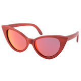 Wood Fashion by PN: Women's Wooden Sunglasses - Aurora