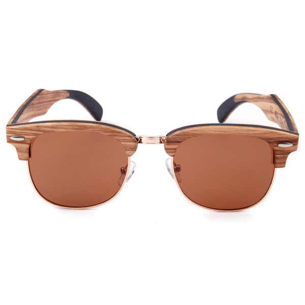 Wood Fashion by PN: Men's Wooden Sunglasses - Fresno