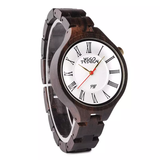 Wood Fashion by PN: Women's Wooden Watches - Ash