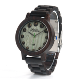 Wood Fashion by PN: Men's Wooden Watches - Neo - Dark