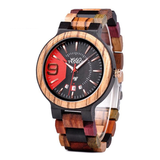 Wood Fashion by PN: Men's Wooden Watches - Dominic