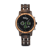 Wood Fashion by PN: Women's Wooden Watches - Coco