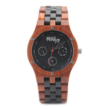 Wood Fashion by PN: Men's Wooden Watches - Gunner