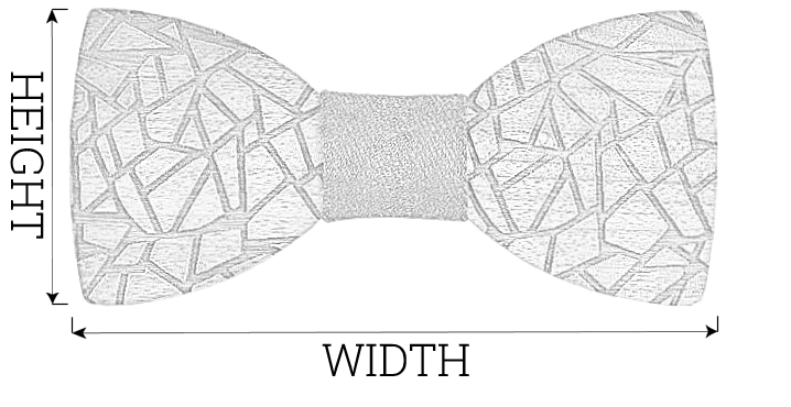 Wood Fashion by PN: Bow Ties Size Chart