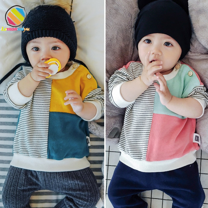 Baby Autumn Cotton Sweatshirts for boys