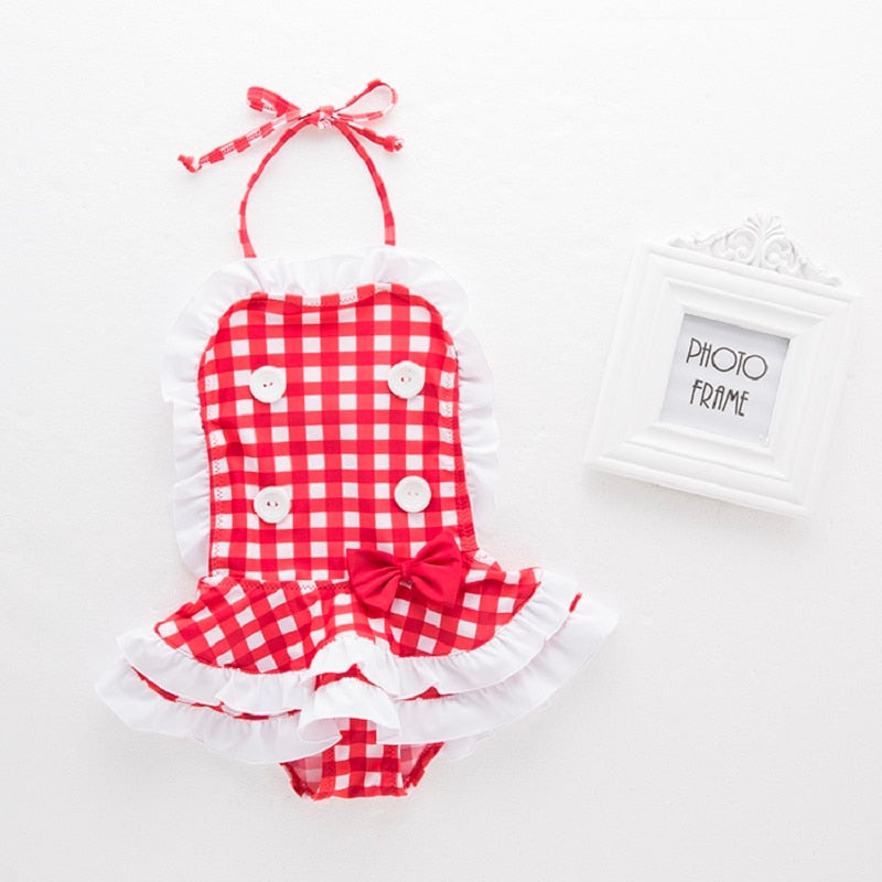 Baby Girls Swimwear Summer Bathing Suit