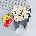 Baby Cartoon T-Shirt Pants Clothing Sets