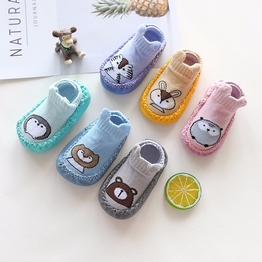 Baby Toddler Shoes and Cartoon Socks
