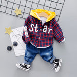 Baby Hoodies Toddler Hooded Set