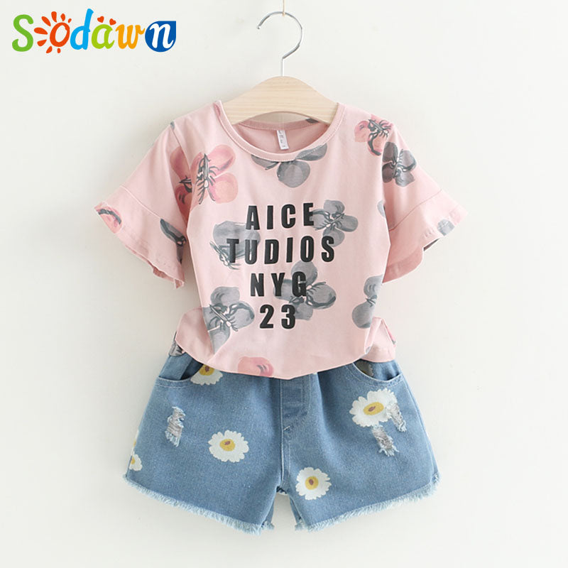 Summer Baby Girls Clothes